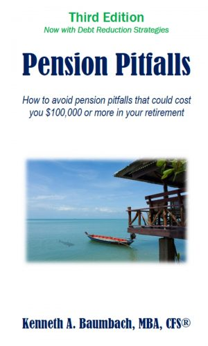 Pension Pitfalls - kindle cover